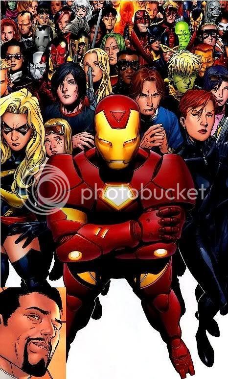 Tony Stark e a nova ordem mundial da Marvel