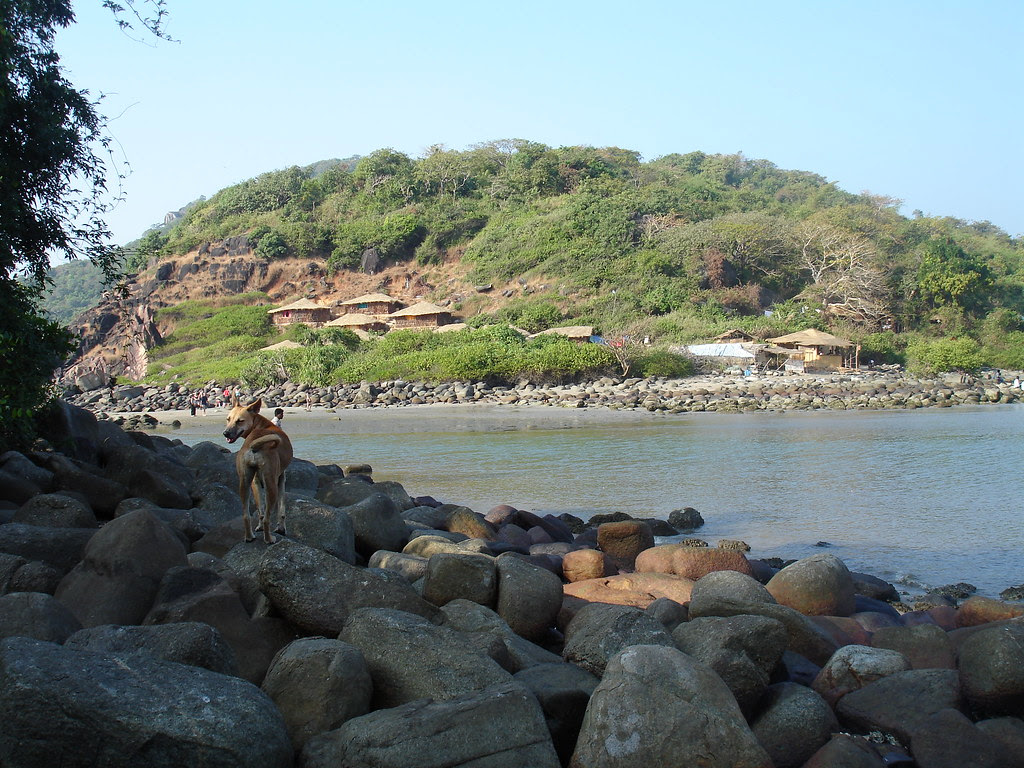Island off Palolem Beach, Goa