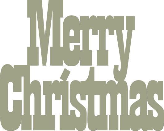 Merry Christmas 45 x 36