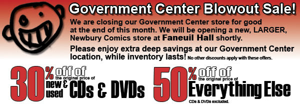 Closing Sale, Govt Center store