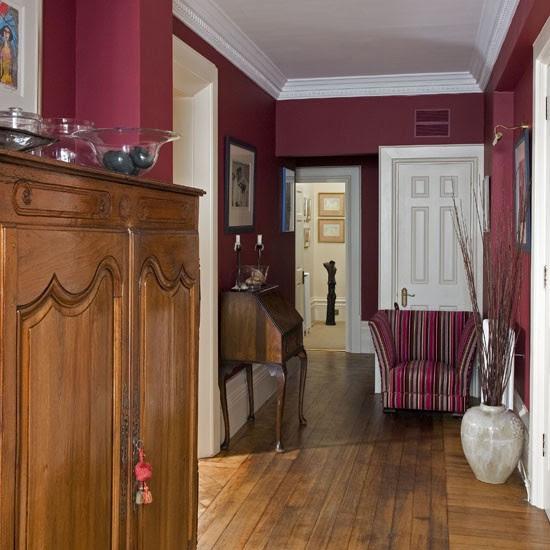 Victorian hallway | Hallway colour schemes | housetohome.