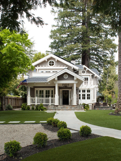 Mill Valley Classic Cottage - craftsman - exterior - san francisco ...