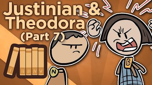 Justinian & Theodora – VII: The Cracks Begin to Spread – Extra History