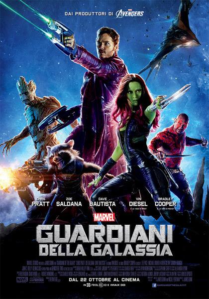 Locandina italiana Guardiani della Galassia