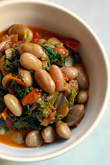 braised borlotti beans© by Haalo