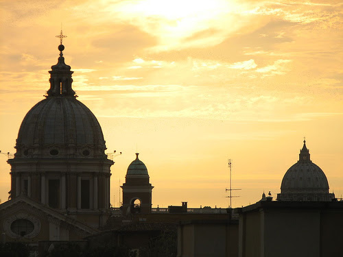 Rome - View From The Spanish Steps