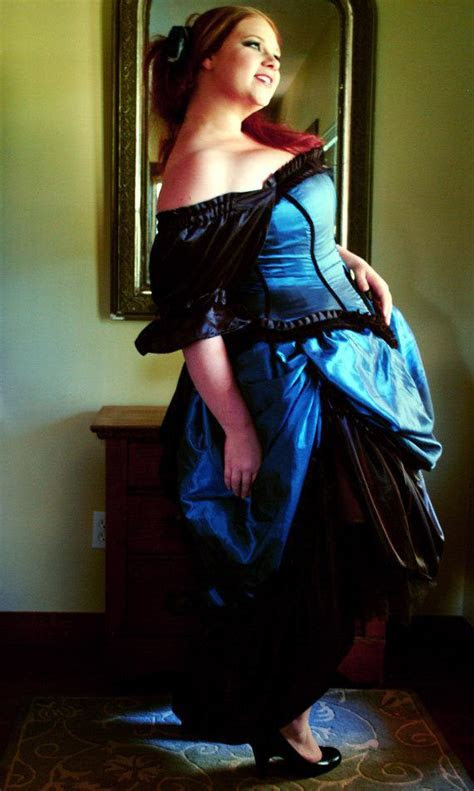 2014 Vintage Pirate Steampunk Gown Corset And Bustle Skirt