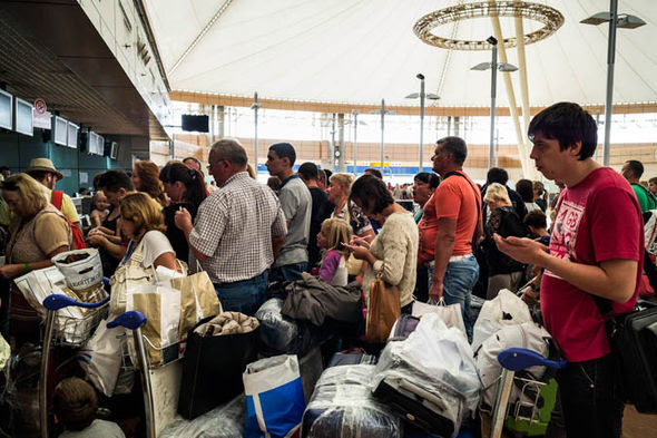 Britons have been stranded in Sharm El Sheikh
