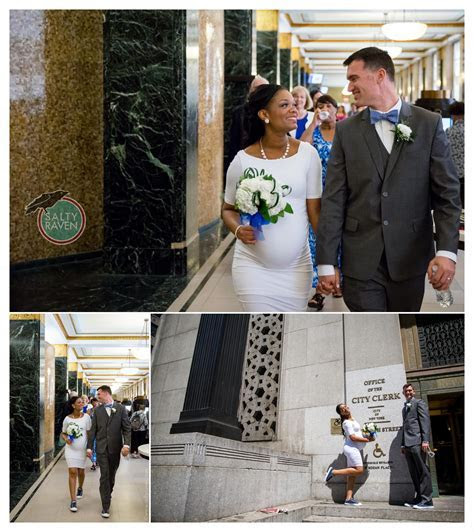 New York City Hall Wedding   Salty Raven Studio & Event