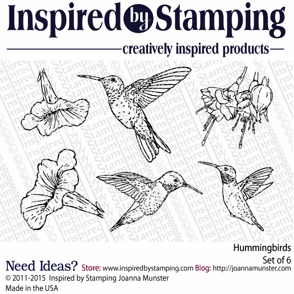 Inspired by Stamping Hummingbirds stamp set