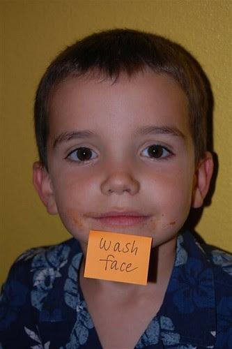 sticky note, 3