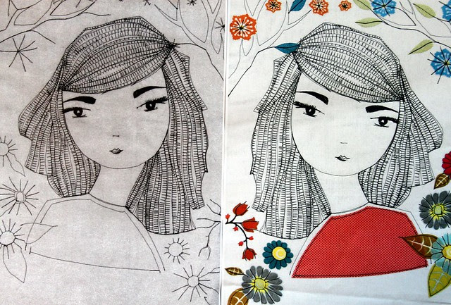 Sketch Stitch Prints