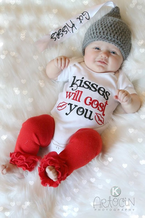 personalized christmas outfit reversible pinafore sassy locks baby girl first valentines