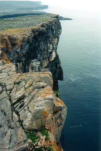 The Atlantic Ocean from Dún Aonghasa