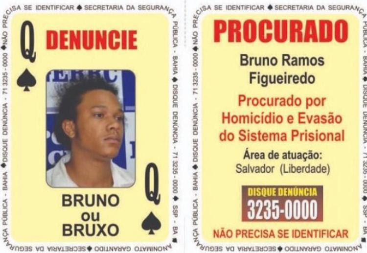 Bruno Ramos Figueiredo, conhecido como Bruno Bruxo, era suspeito de diversos homicídios - Foto: Kelly Hosana l SSP-BA