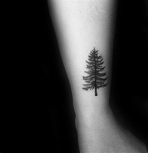 60 Small Tree Tattoos For Men   Masculine Design Ideas