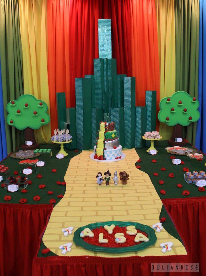 Karas Party Ideas Wizard Of Oz Birthday Party Karas Party Ideas