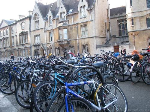 Bikes at Oxford