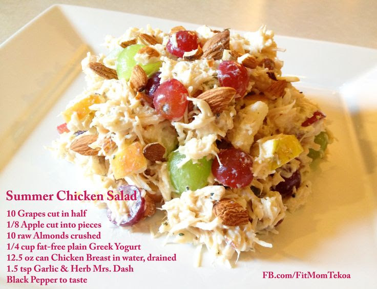QUICK 'N' CHEEP Meal: Summer Chicken Salad  The combo of textures and flavors in this Summer Chicken Salad is delicious! Perfect on it's own, over salad greens, or in a sandwich with your favorite whole grain or grain-free bread. Enjoy!