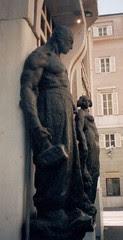 Deutsche Bank statues, Trieste