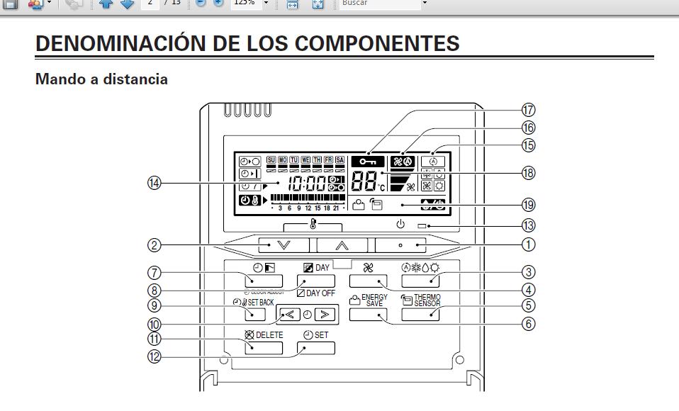 Aire acondicionado split manual de instrucciones fujitsu for Manual aire acondicionado