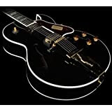 Gibson Custom Shop HSL4MEBGH1 Hollow-Body Electric Guitar, Ebony