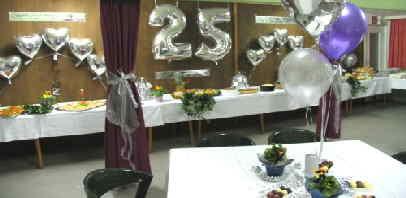 Fari 39 nin d nyas dekoration zur silberhochzeit for Dekoration zur silberhochzeit