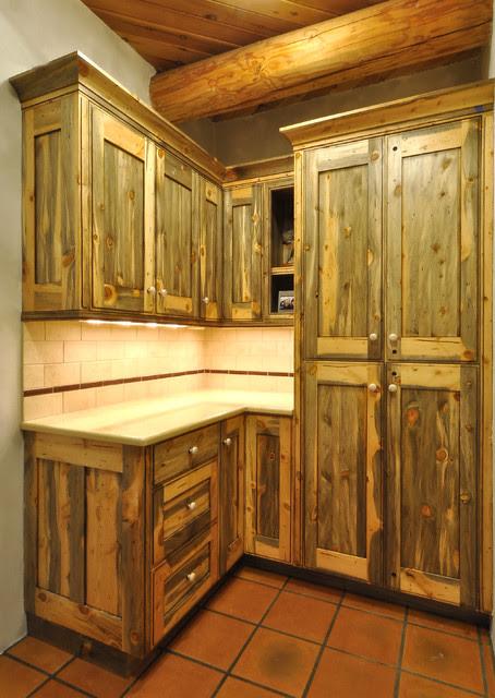 Colorado Beetle Kill Pine Kitchen - Rustic - denver - by ...
