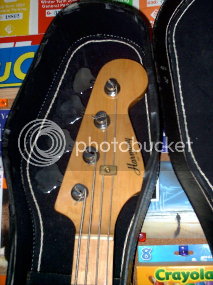 Harmony Bass Headstock