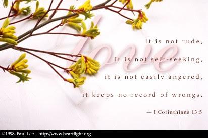 1 Corinthians 13:5 (30 kb)