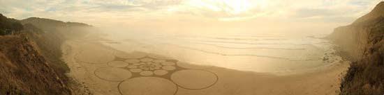 Εξωπραγματική τέχνη σε παραλίες από τον Jim Denevan (22)