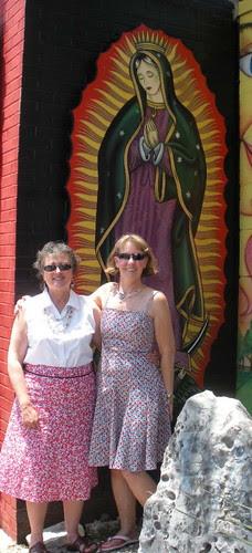 Barbara, Debra and the Madonna