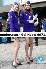 trang phục tiếp viên hàng không các nước
