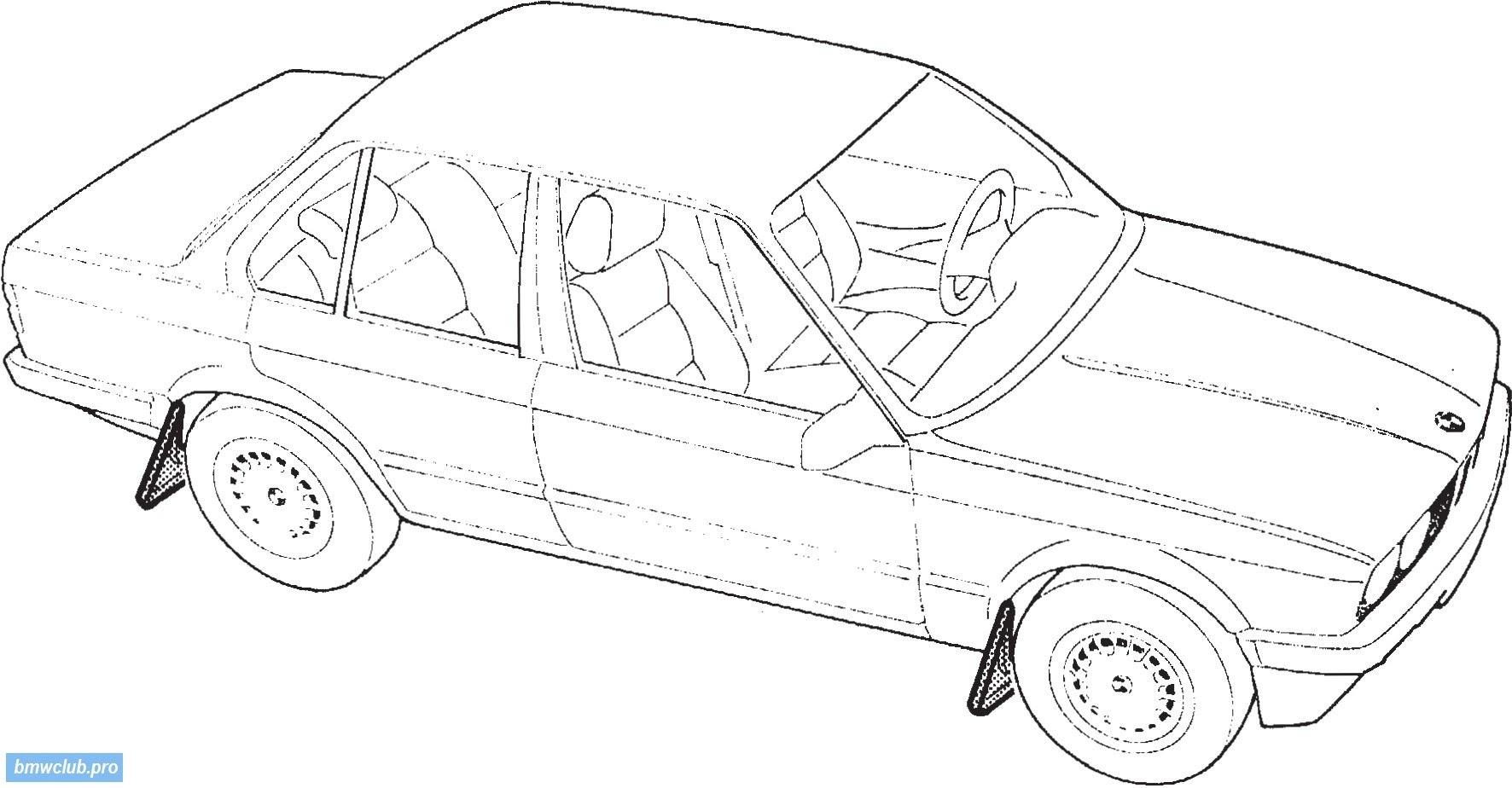 Auto Kleurplaat Bugatti