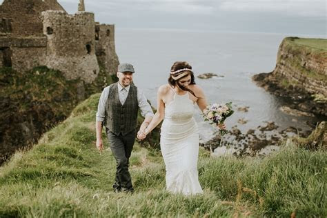 Amanda and Galen   Dunluce Castle Northern Ireland