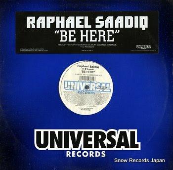 RAPHAEL SAADIQ be here