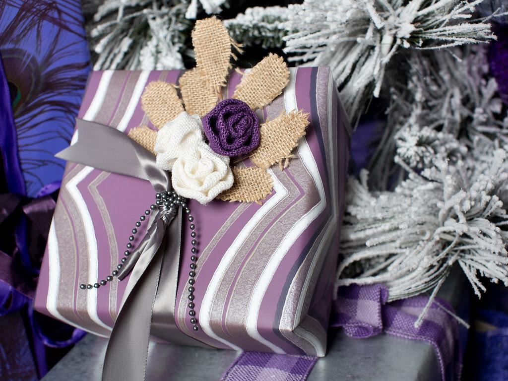 HGTV Modern Holiday Color Palette Lavender Grey Violet 7