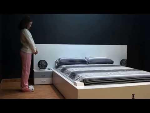 video que muestra La Cama que se Hace Sola