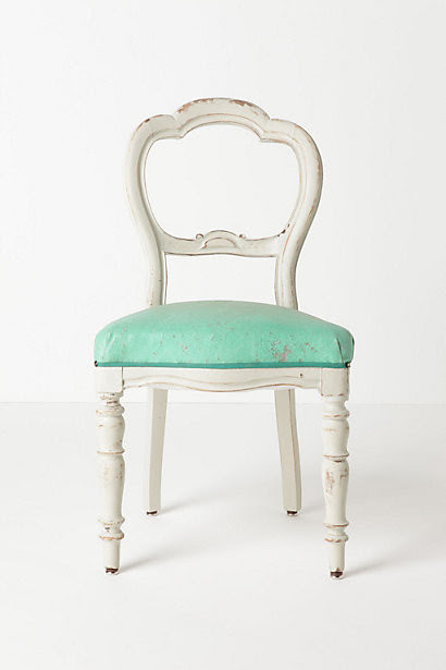 Olmo Chair, Turquoise - traditional - chairs - - by Anthropologie