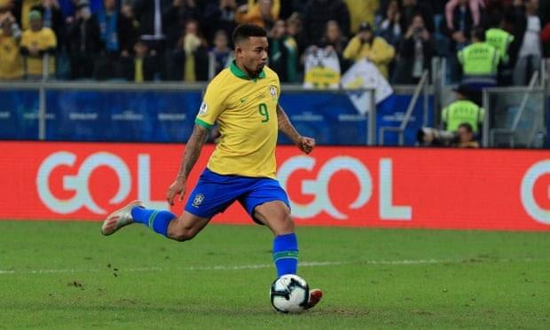 Jesus sends Brazil to Copa semis