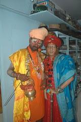 The Shia Pandit and Gopal The Naga Sadhu by firoze shakir photographerno1