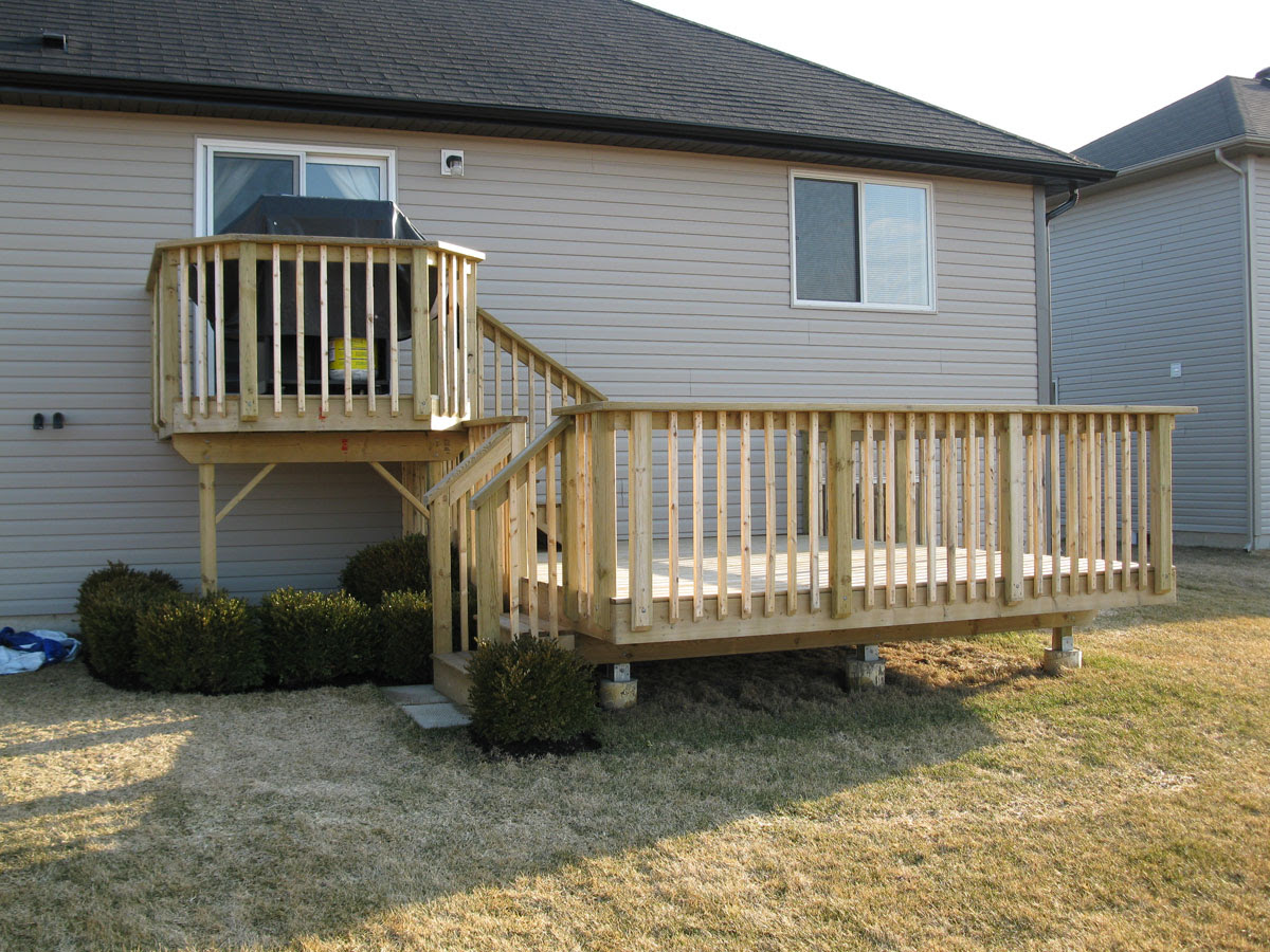 When It Comes To Decks Fences Sheds And Other Custom Work The Sky