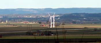 Utsikt över nordvästra Skåne