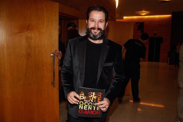 Murilo Benício assiste a peça de teatro (Foto: Manuela Scarpa e Marcos Ribas/Foto Rio News)
