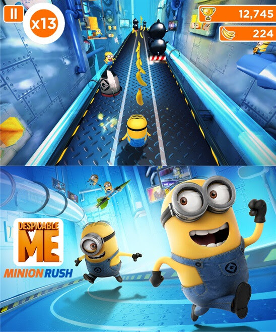 Despicable Me: Minion Rush - Windows Phone - Free