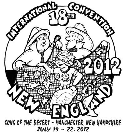 Sons of the Desert 2012 convention logo