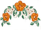 Pastel Tulips Embroidery Designs