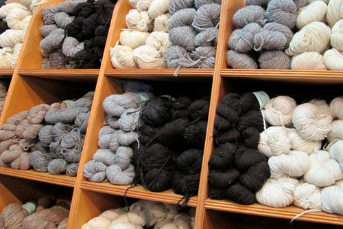 natural colored skeins
