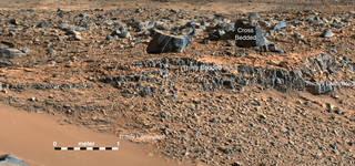 Secrets of 'Hidden Valley' on Mars