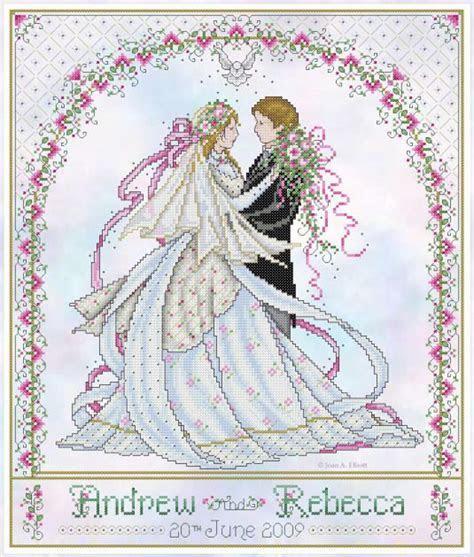 wedding cross stitch patterns free to print   wedding